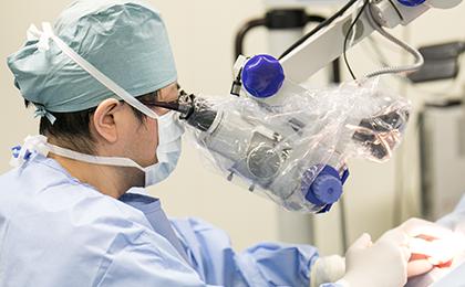 耳専門のドクターによる治療・手術