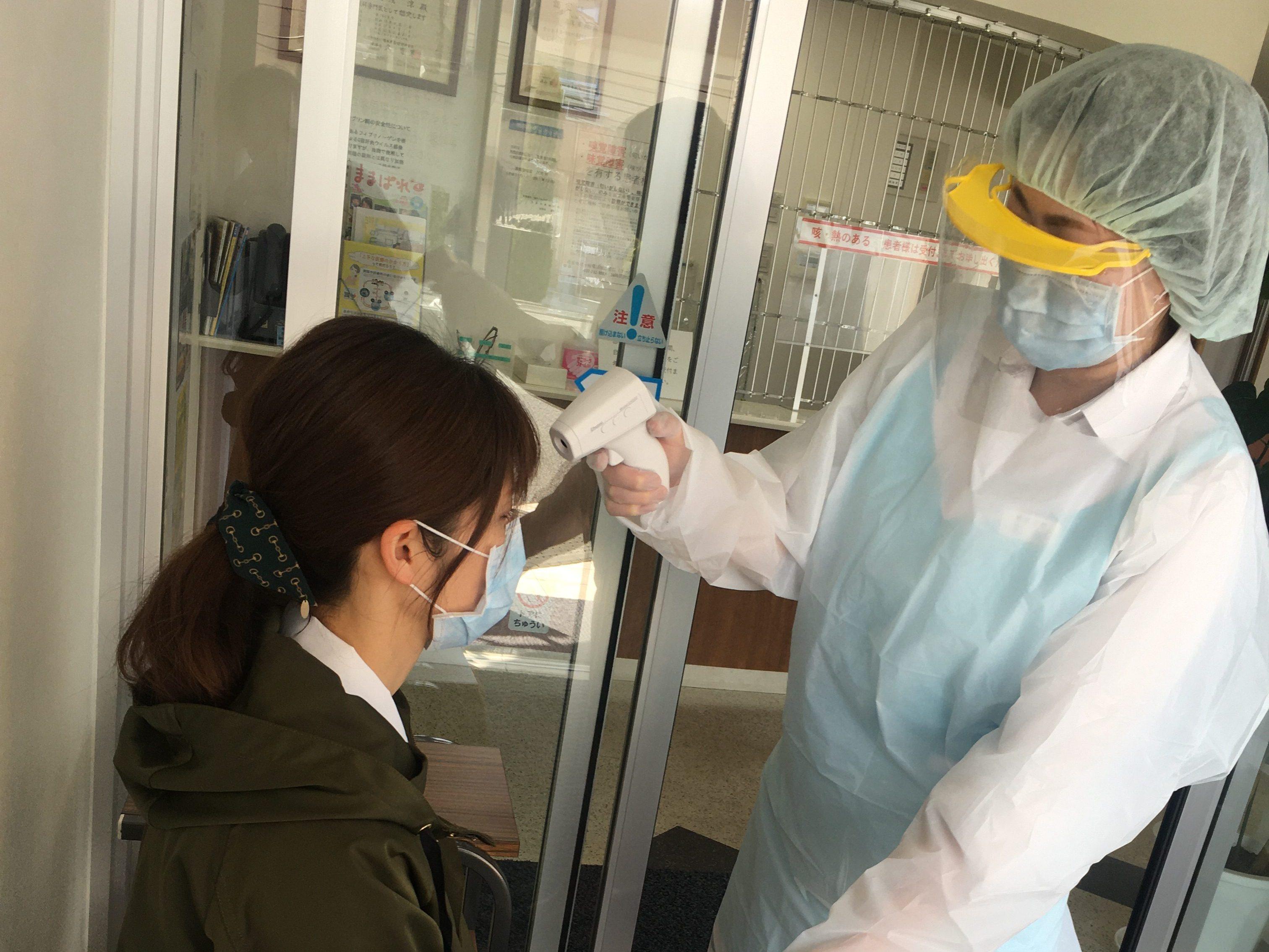 新型コロナウイルス感染防止対応
